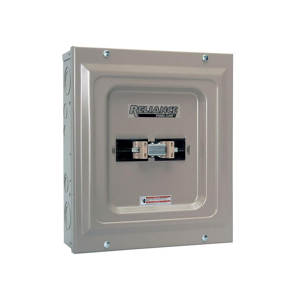 Reliance Controls Commutateur de transfert génératrice/services publics 100 A de Reliance Controls