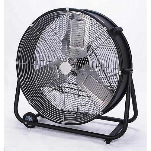 Ventilateur centrifuge industriel à grande vitesse de 24 po