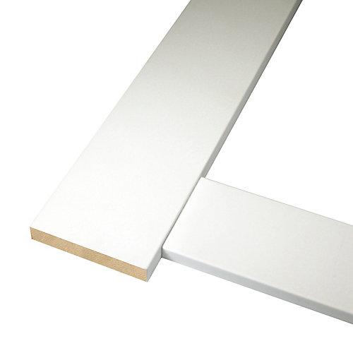 Ensemble de cadrage de porte moderne pour porte mesurant jusqu'à 36 po x 80 po