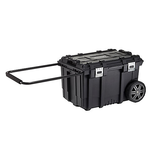 26-inch Connect Rolling Tool Box Black