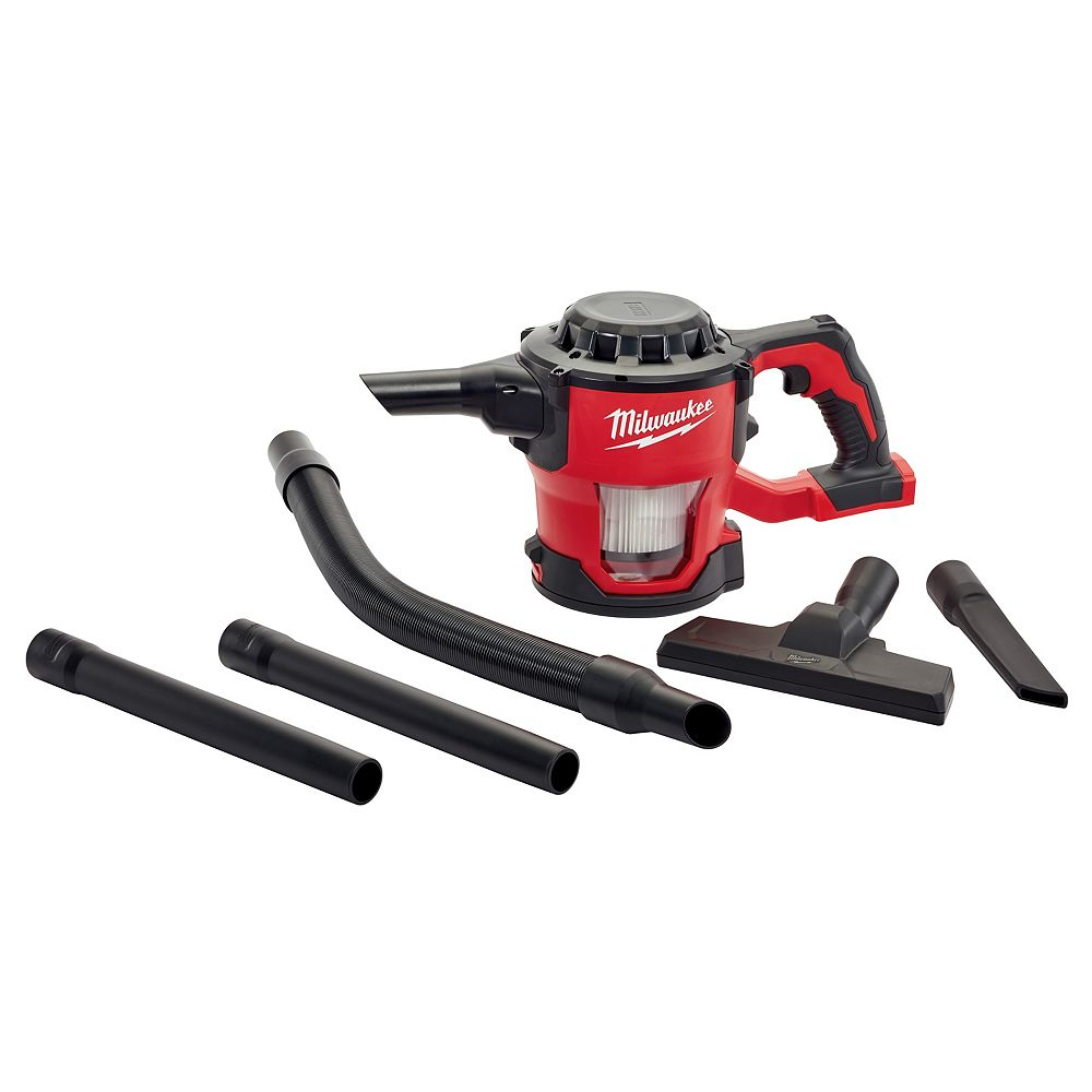Milwaukee Tool M18 18V Lithium-Ion Cordless Compact Vacuum (Tool Only)