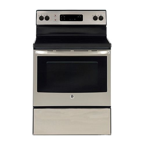 30-inch 5.0 cu. ft. Single Oven Electric Range Oven in Stainless Steel