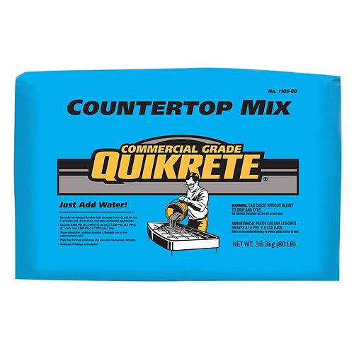 80# Quikrete Countertop Mix