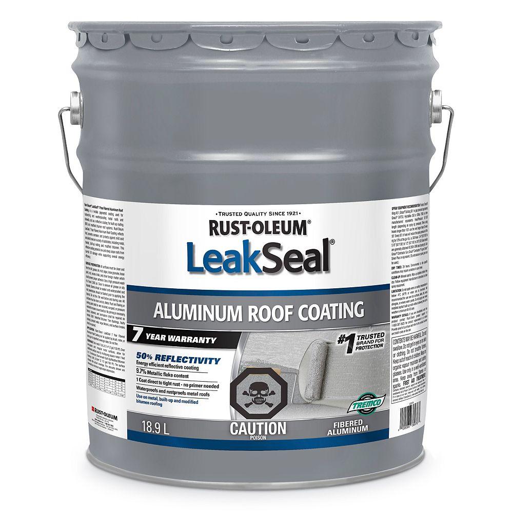 Leakseal Revetement Pour Toits En Aluminium Leak Seal 7 Ans 18 9l Home Depot Canada