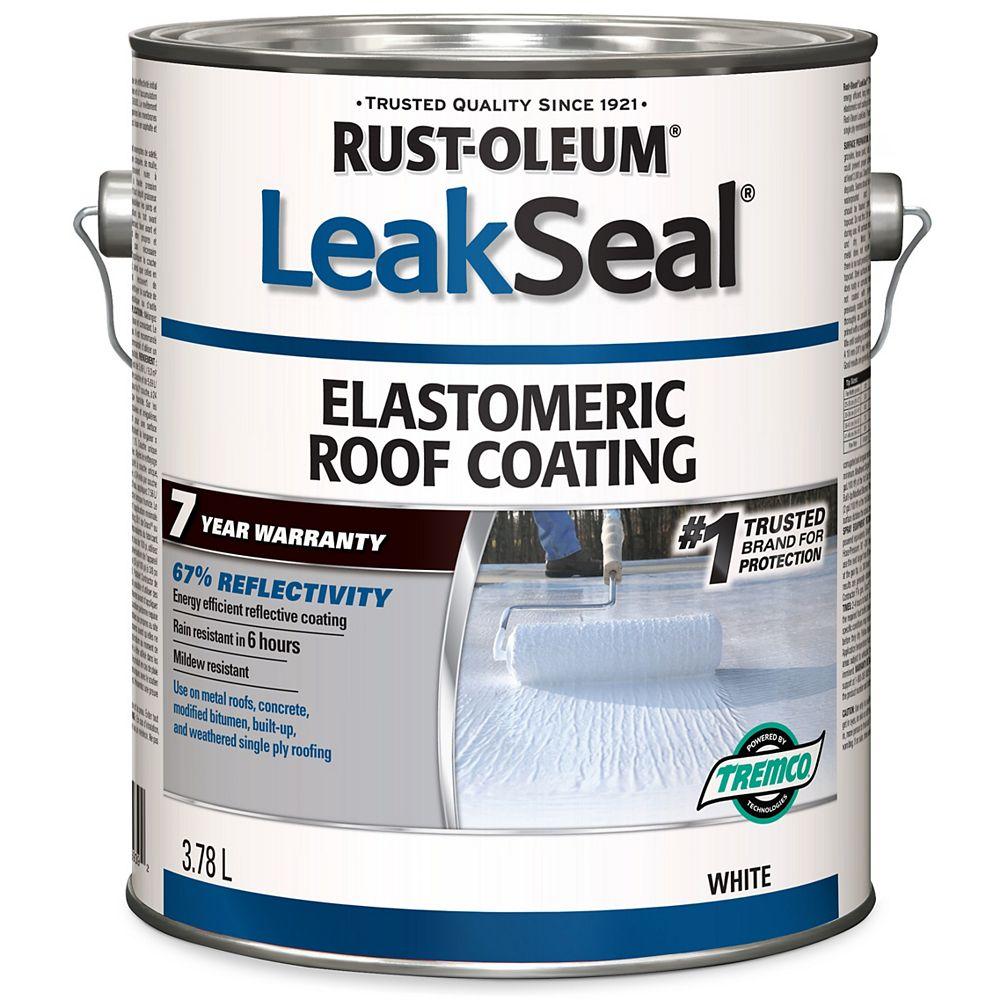 Leakseal Enduit Elastomerique Pour Toitures 7 Ans 3 78 L Home Depot Canada