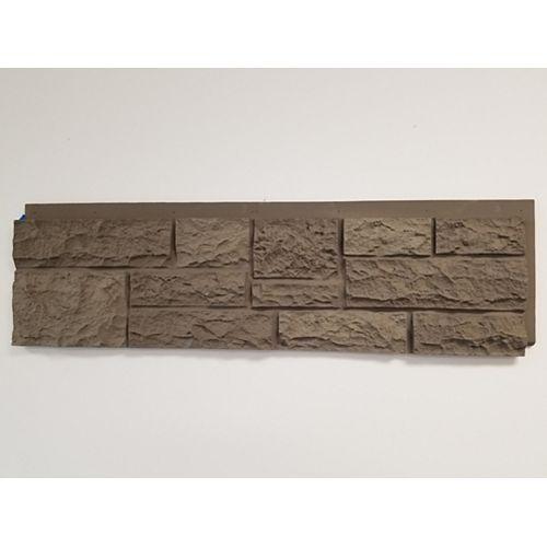 Rockface Dark Grey Panels