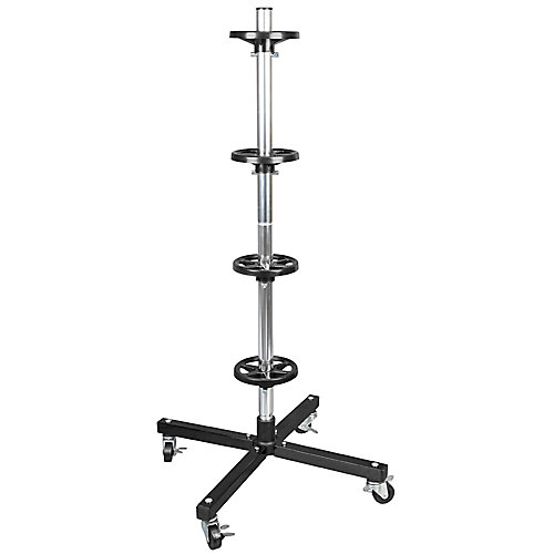 42.2-Inch Tire Rack with Rolling Casters