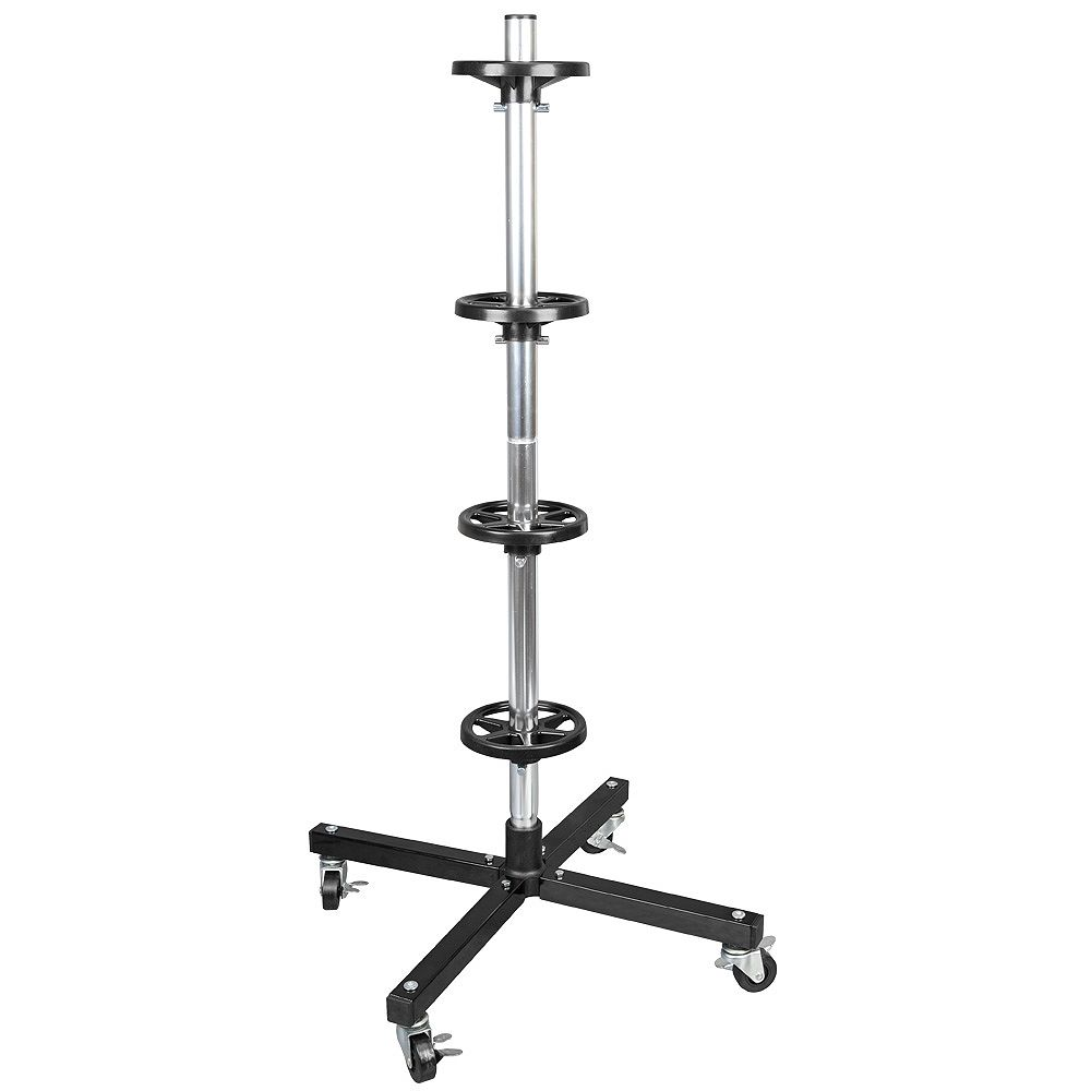 Husky 42.2-Inch Tire Rack with Rolling Casters