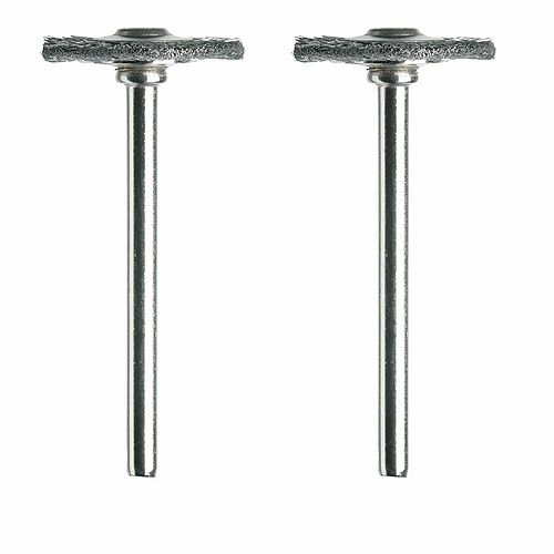 Dremel 3/4 inch Carbon Steel Brushes (2-Pack)