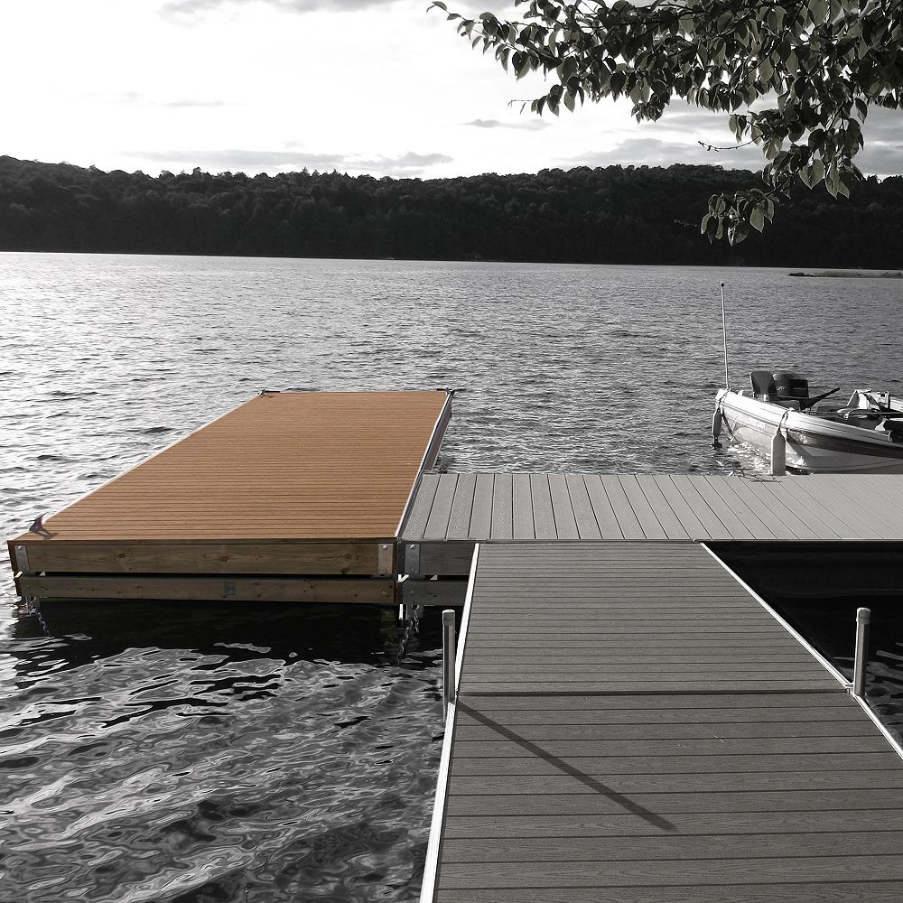 Multinautic Medium Freeboard Heavy Duty Floating Wood Dock