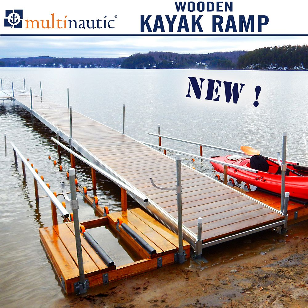 Multinautic Wood Kayak Ramp Kit
