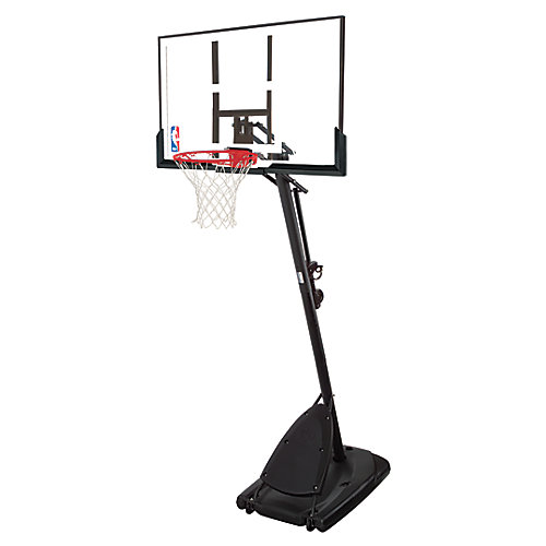 50-inch Polycarbonate Outdoor Basketball System