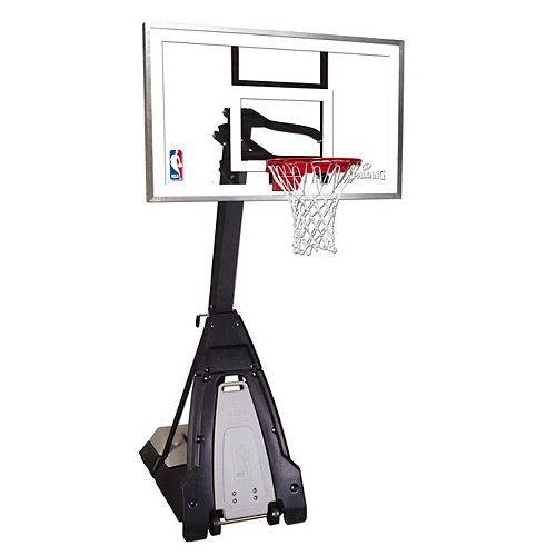 Spalding The Beast 60 Inch Glass Basketball System