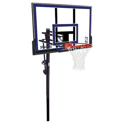 Système de Basketball enterré en Acrylique de 50 po