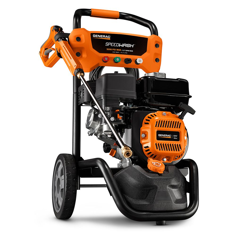 Generac Speedwash Residential 3200PSI Gas Pressure Washer