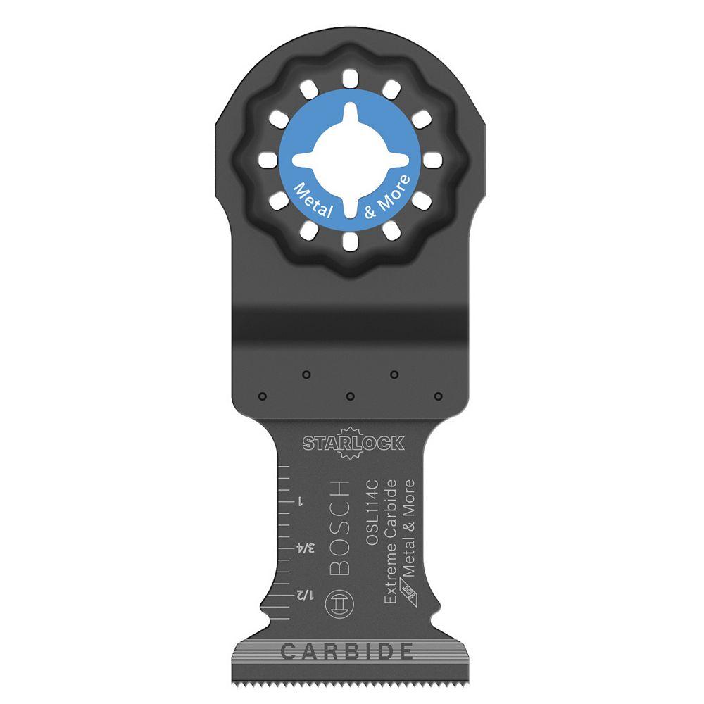 Bosch 1-1/4 inch Starlock Carbide Plunge Cut Blade