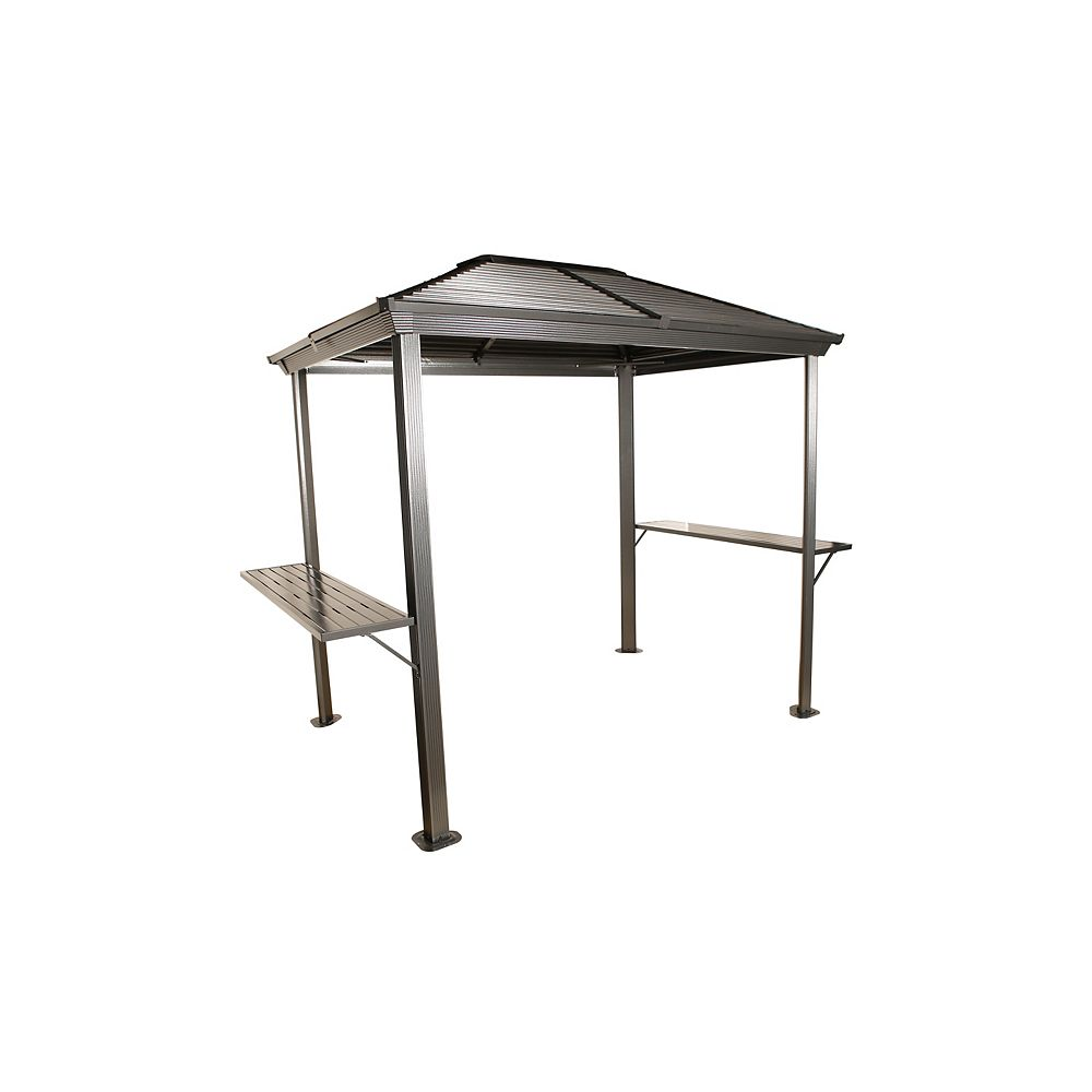 Sojag Ventura 5 ft. x 8 ft. Grill Shelter In Charcoal