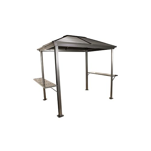 Ventura 5 ft. x 8 ft. Grill Shelter In Charcoal