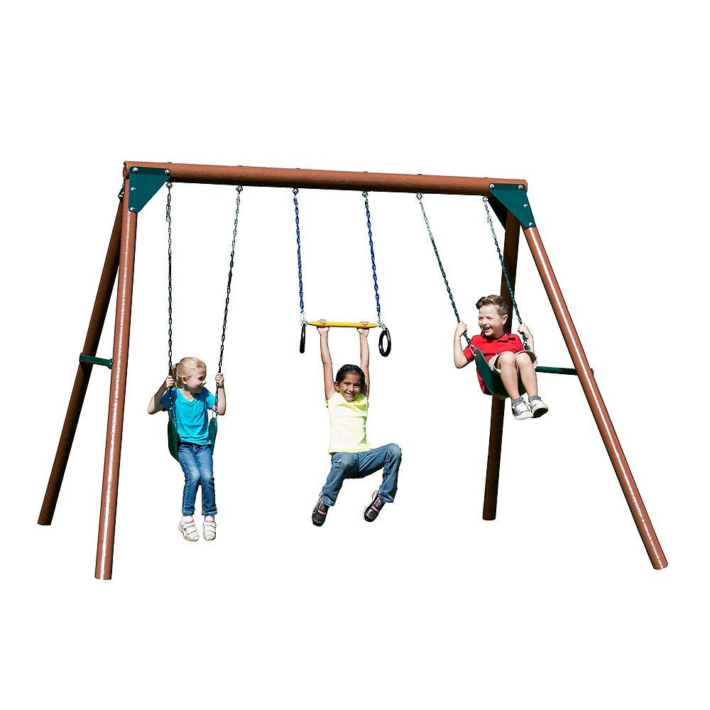 Swing-N-Slide Orbiter Complete Swing Set