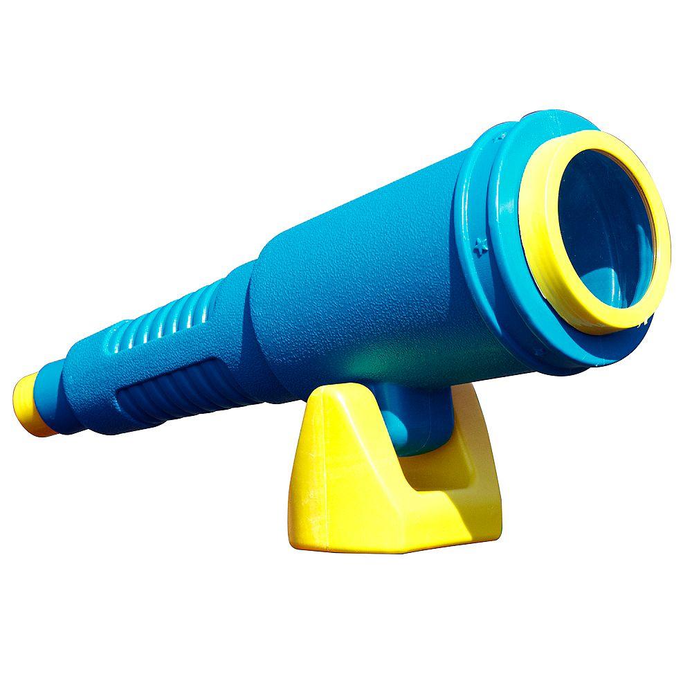 Swing-N-Slide Télescope pour ensemble de jeux de luxe en bleu