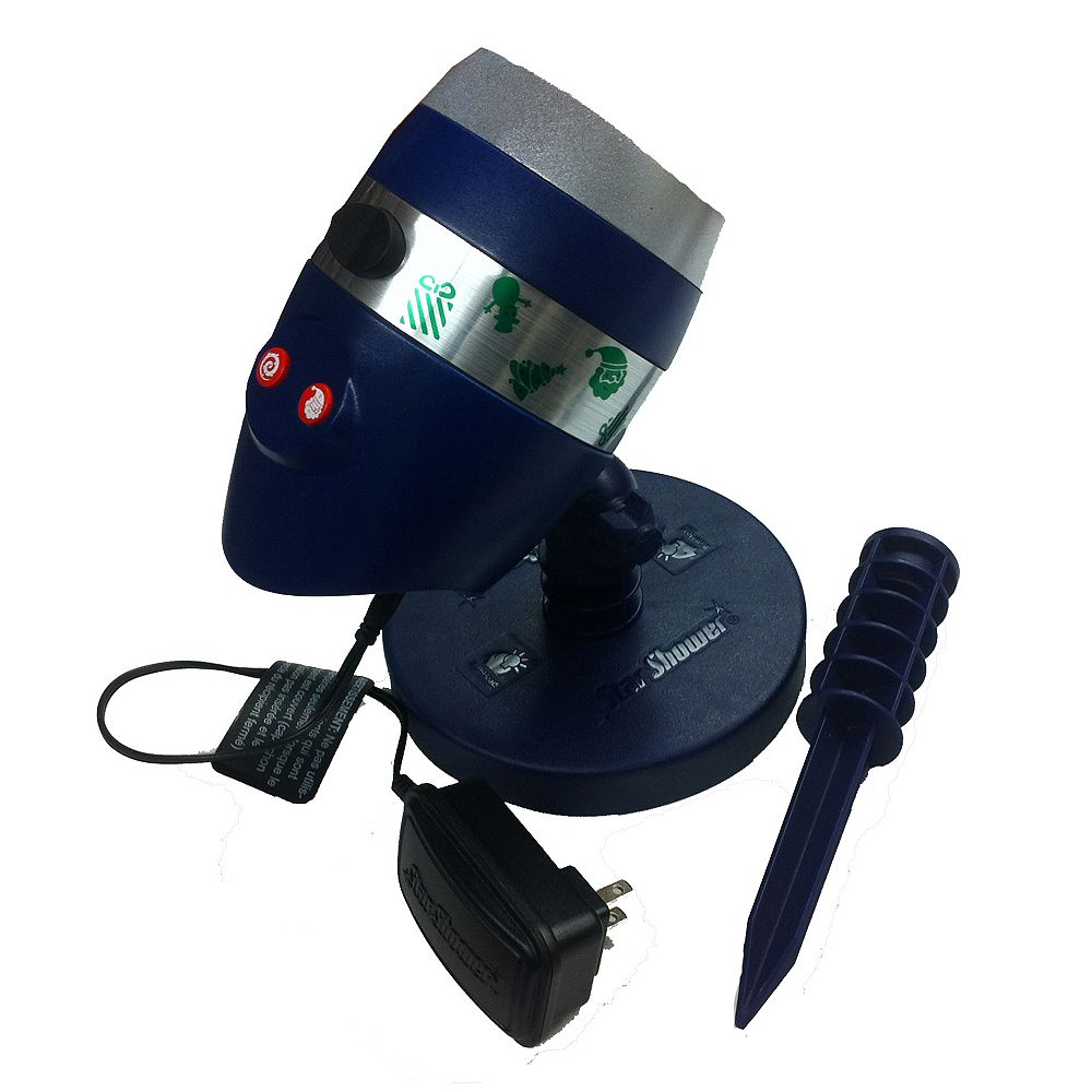 Star Shower Laser Magic 6-Scene Christmas & Halloween Outdoor Laser Projector