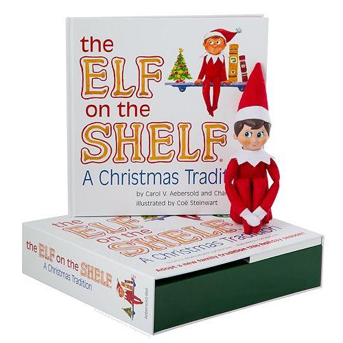 Elf on the Shelf Boxset, English