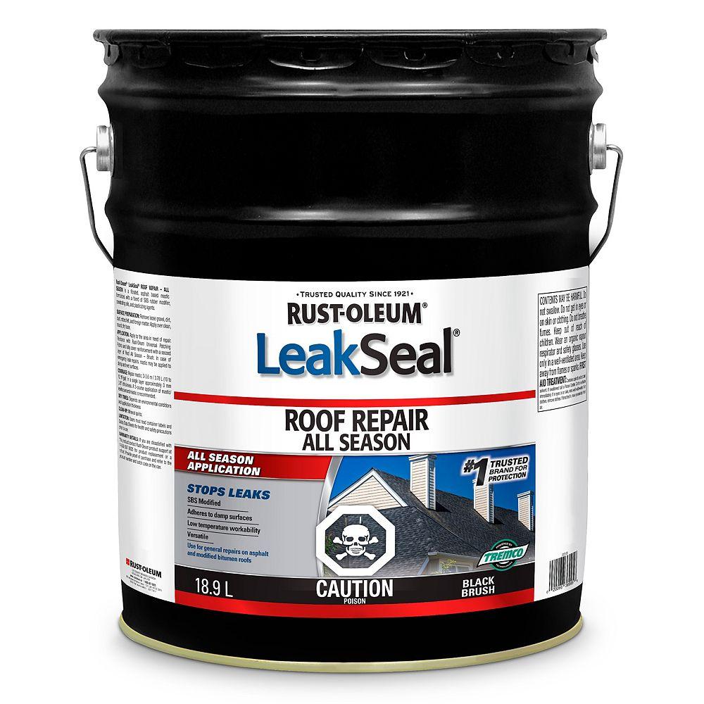 Leakseal Enduit De Reparation Pour Toitures Toutes Saisons 18 9 L Home Depot Canada