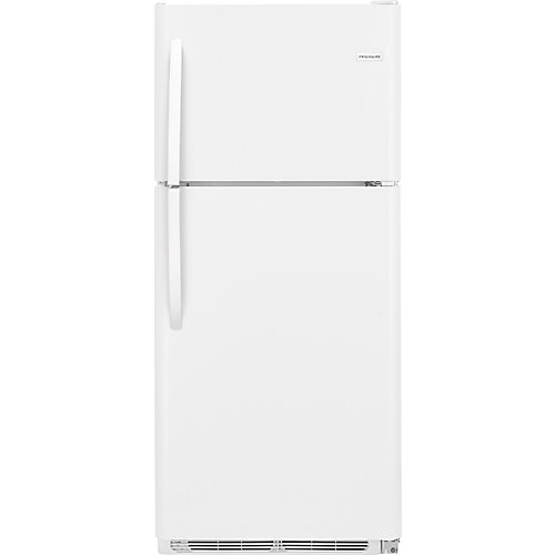 20 Cu. ft Top Mount Refrigerator in White