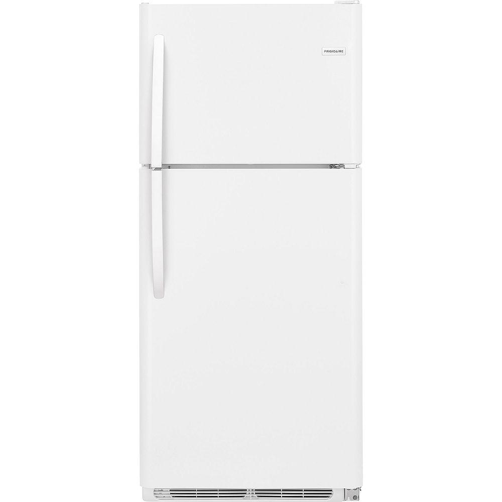 Frigidaire 30-inch W 20.4 cu. ft. Top Freezer Refrigerator in White