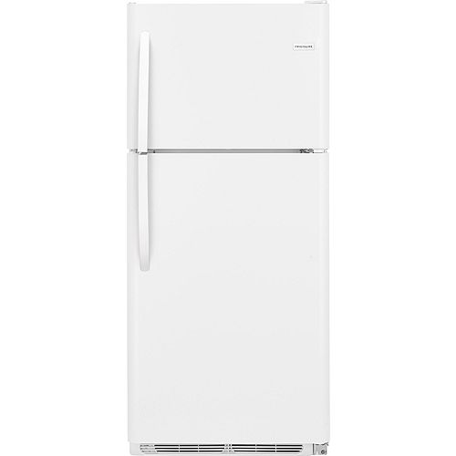 30-inch W 20.4 cu. ft. Top Freezer Refrigerator in White