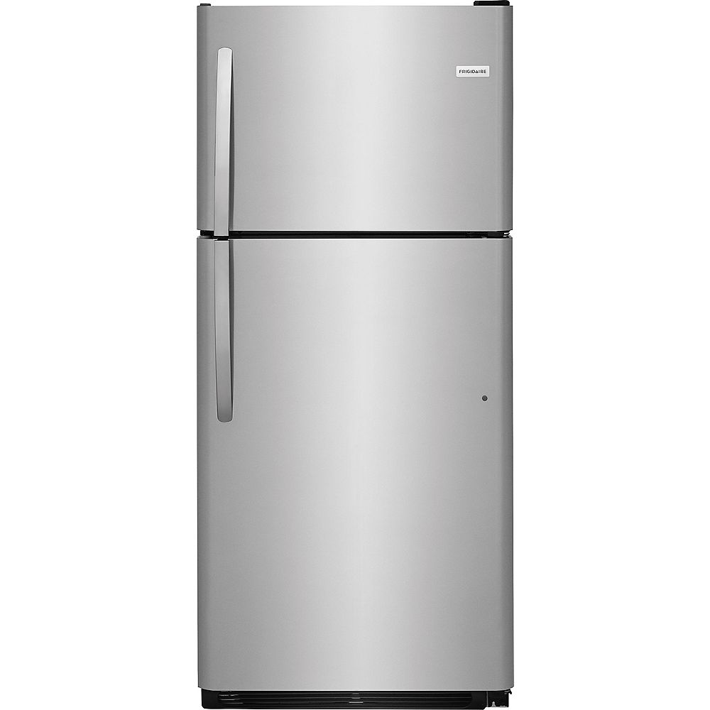 Frigidaire 30-inch W 20.4 cu. ft. Top Freezer Refrigerator in Stainless Steel