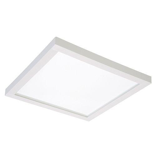 Luminaire à DEL encastré montage en surface avec boîte de jonction, 5/6 po, carré- ENERGY STAR®