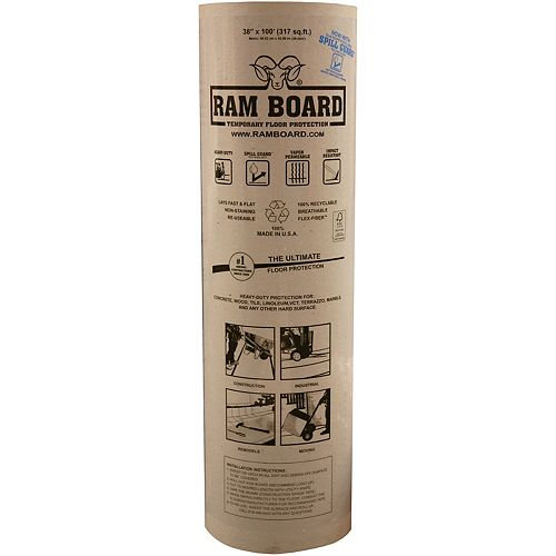 38 inch X 100 ft. Temporary Floor Protection