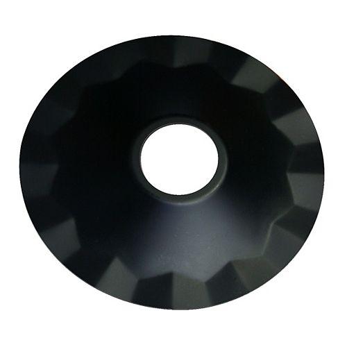 Abat-Jour de métal pour luminaire suspendu - noir