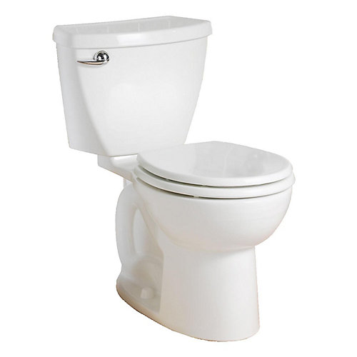 Cadet 4.8L Round Front Complete Toilet in White