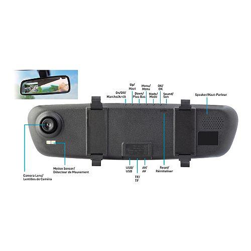 Caméra haute définition rétroviseur