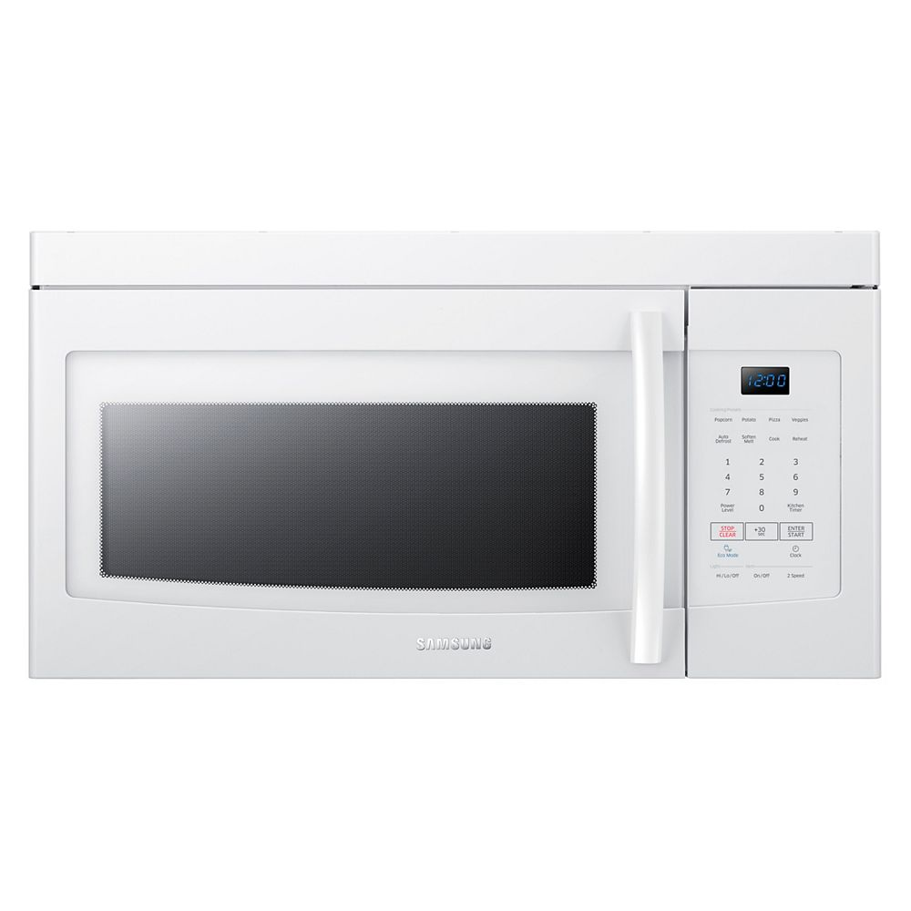 Samsung 16.5-inch W 1.6 cu. ft. Over the Range Microwave in White