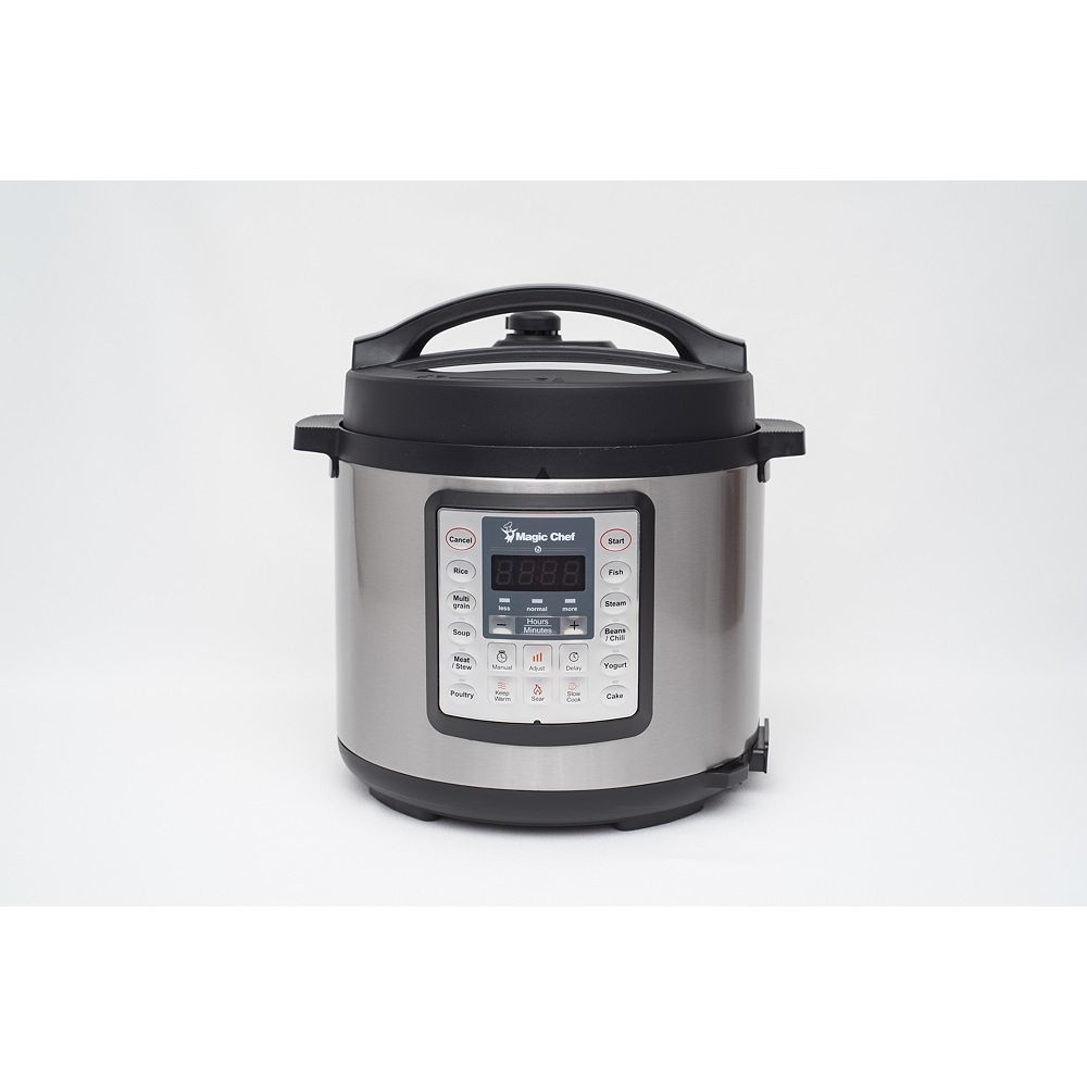 Magic Chef 7-in-1 Multicooker Stainless steel
