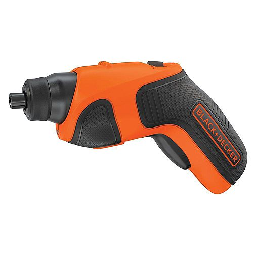 BLACK+DECKER 4V MAX Lithium-Ion Cordless Rechargeable Screwdriver with Charger