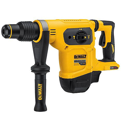 FLEXVOLT 60V MAX Lithium Ion 1-9/16-inch Cordless SDS-plus Brushless Combination Rotary Hammer (Tool-Only)