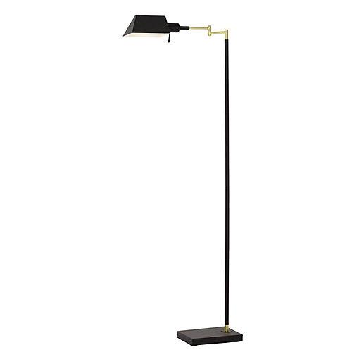 Bronze Swing Arm floor lamp