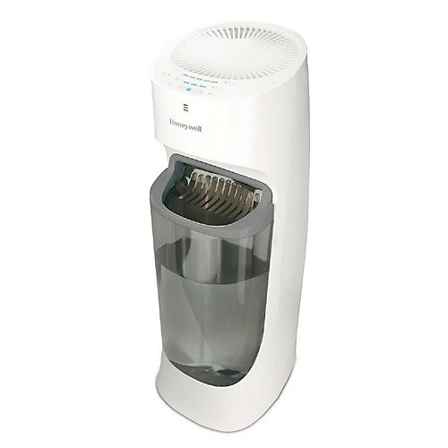 Honeywell Top-Fill Cool Moisture Tower Humidifier for Large Sized Room, 1.7-Gallon