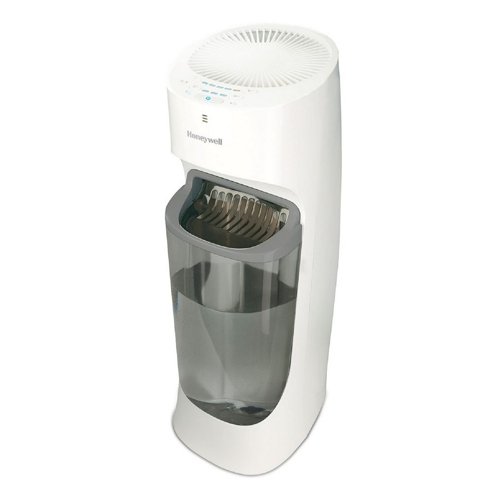 Honeywell Honeywell Top-Fill Cool Moisture Tower Humidifier for Large Sized Room, 1.7-Gallon