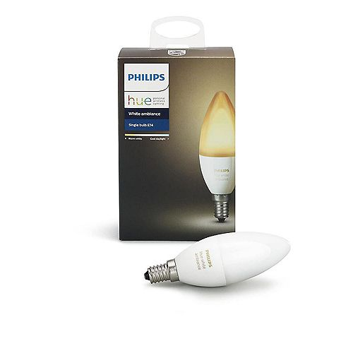 Philips Hue Ambiance Blanche Lustre CltCan