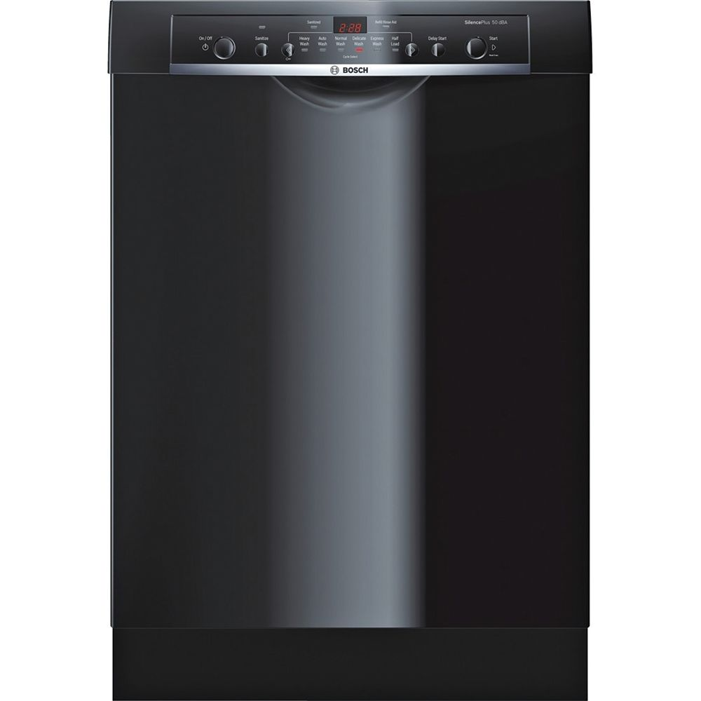 Bosch 100 Series - 24 inch Dishwasher w/ Recessed Handle - 50 dBA - Ascenta - ENERGY STAR®