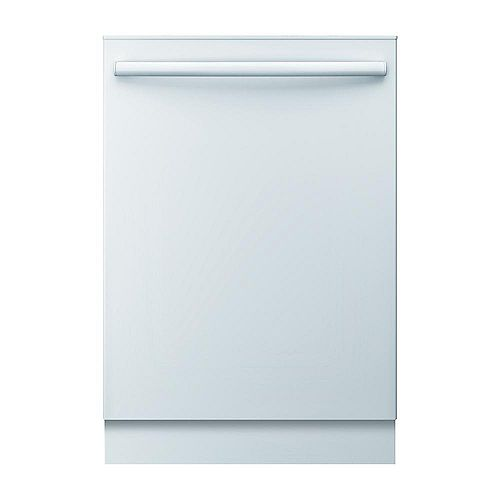Bosch Ascenta 24-inch Top Control  Dishwasher in White, 50dBA ENERGY STAR®