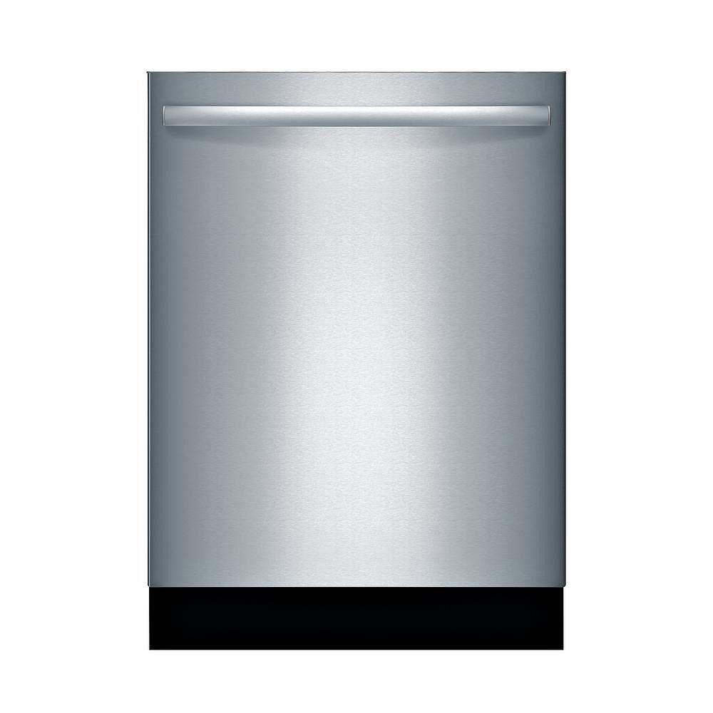 Bosch Ascenta 24-inch Top Control  Dishwasher in Stainless Steel, 50dBA, Anti-Fingerprint