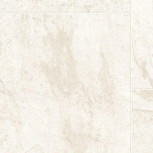 Feuille de vinyle Fiberfloor, 12 pieds de large,  Moderne, Ardoise Colombe