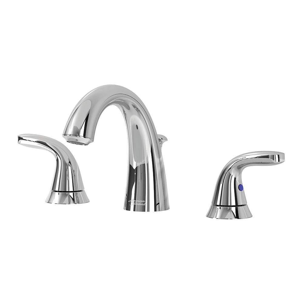 American Standard Cadet 2-Handle Widespread Faucet in Chrome
