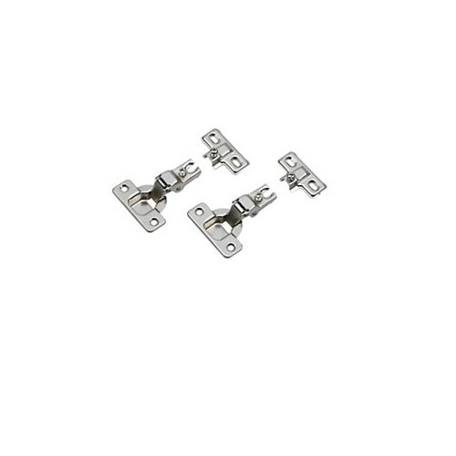 Screw-On Euro Hinges (2-Pack)